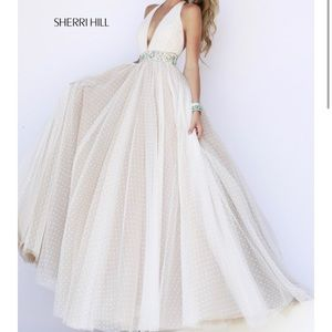 Sherri Hill prom dress spring 2015
